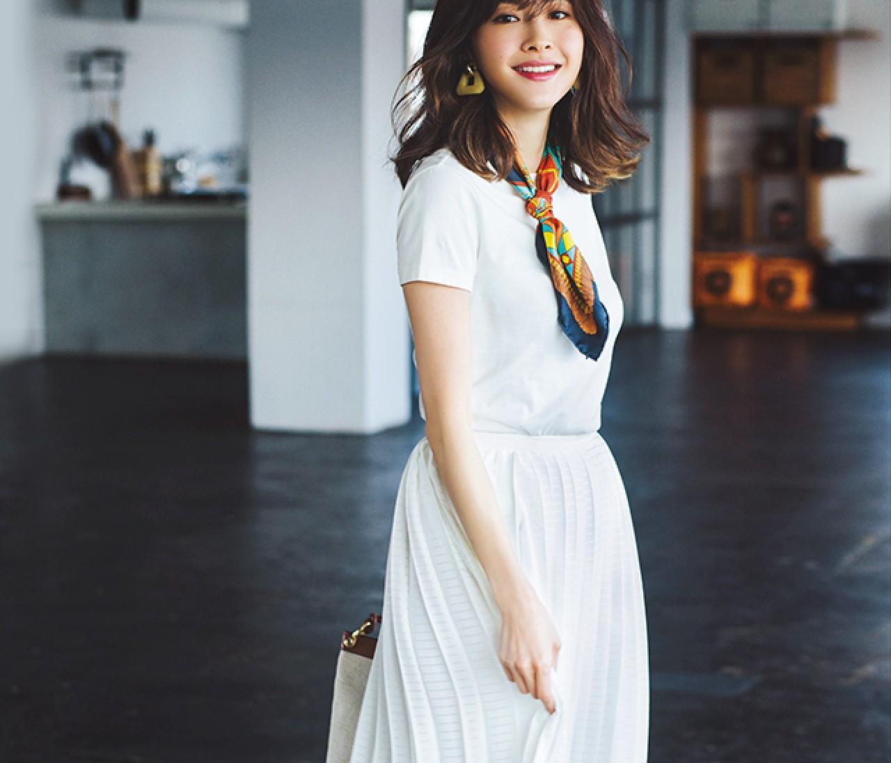 【2019夏Tシャツコーデ38選】通勤もデートもTシャツコーデでおしゃれは叶う!