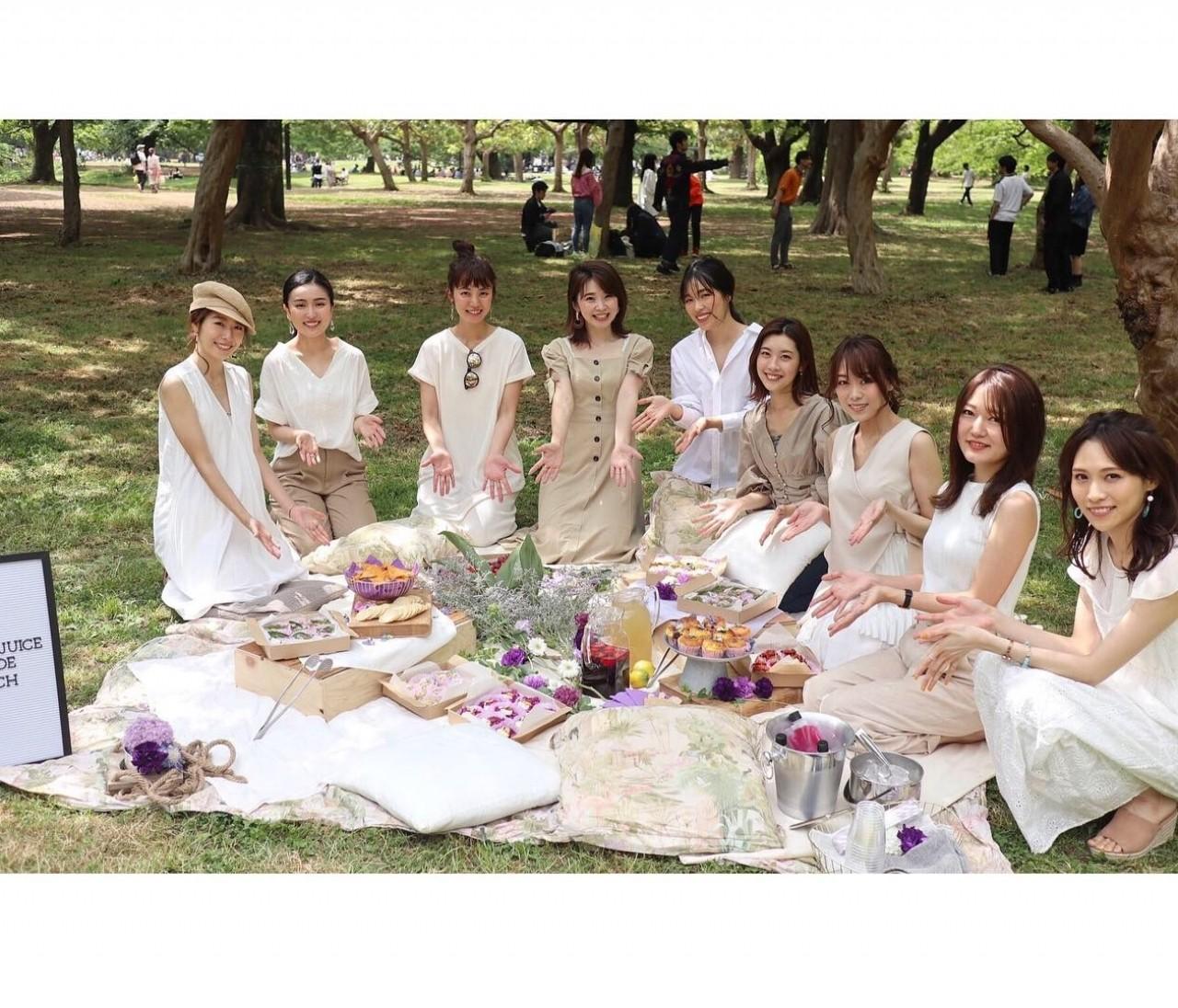 【バイラーズ女子会】手ぶらでオシャレピクニック♪