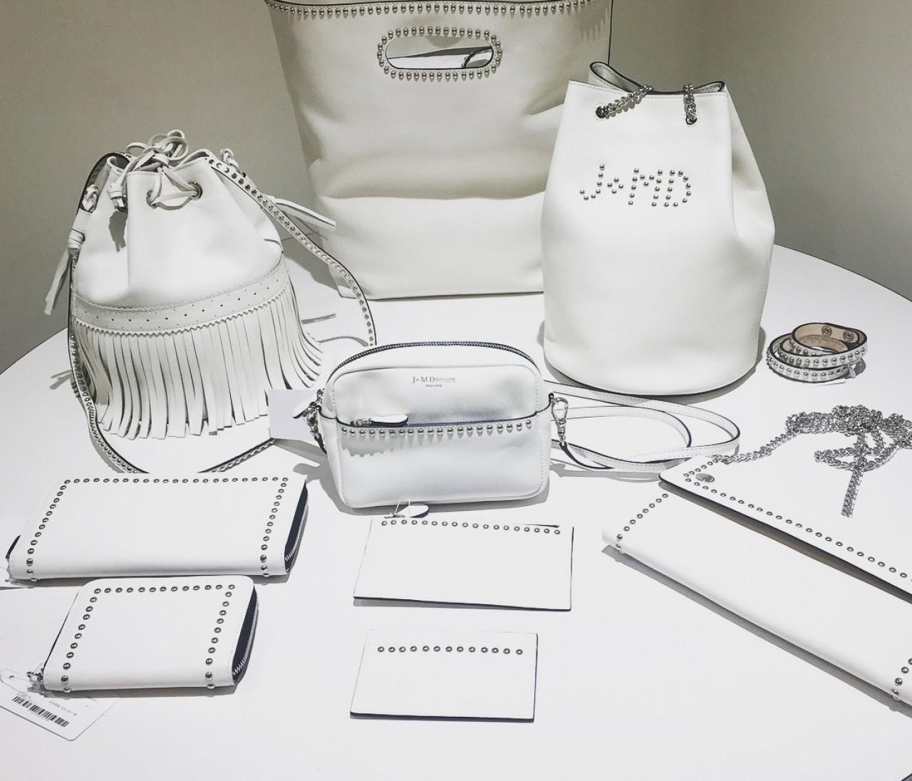 春バッグはJ&M DAVIDSONの新色【白】に注目!