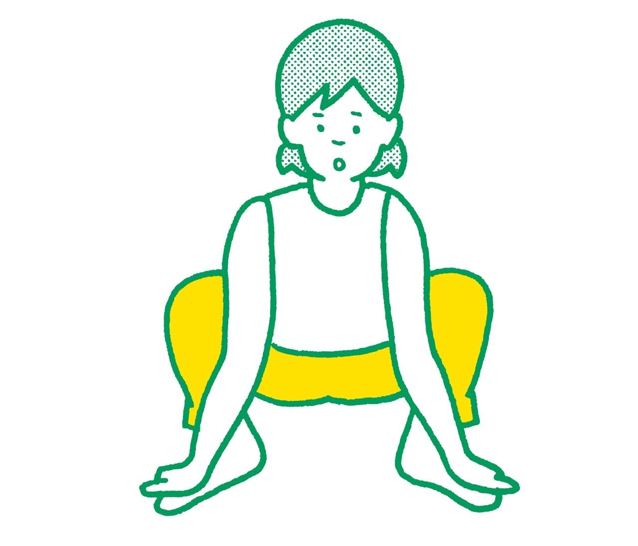 【脚裏伸ばしダイエット】脚裏からヒップまで効く!四肢ストレッチ