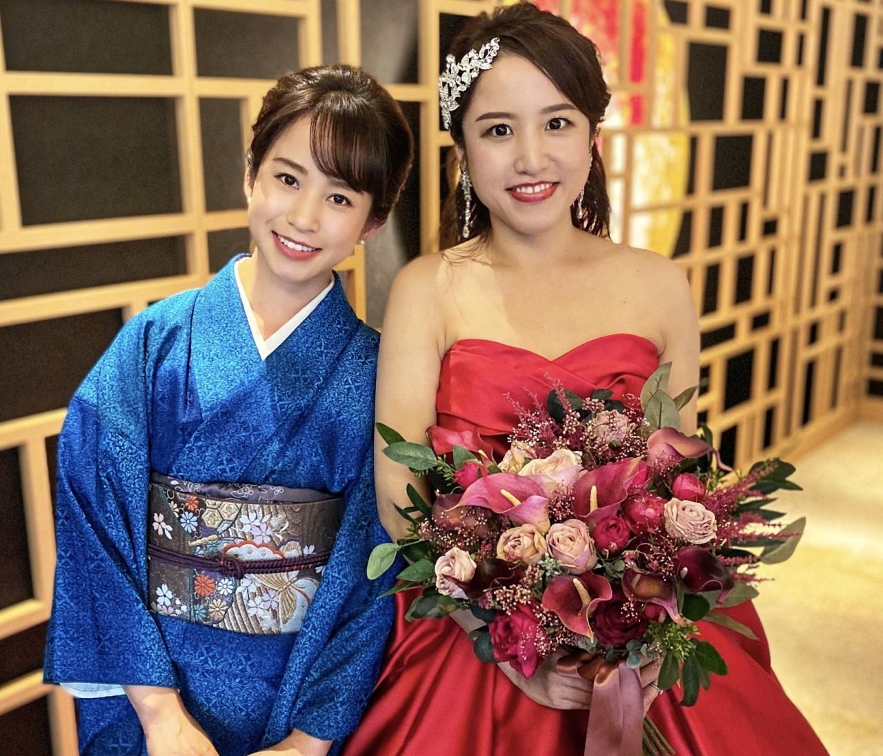 着物に恋して♡大好きなお姉ちゃんの結婚式