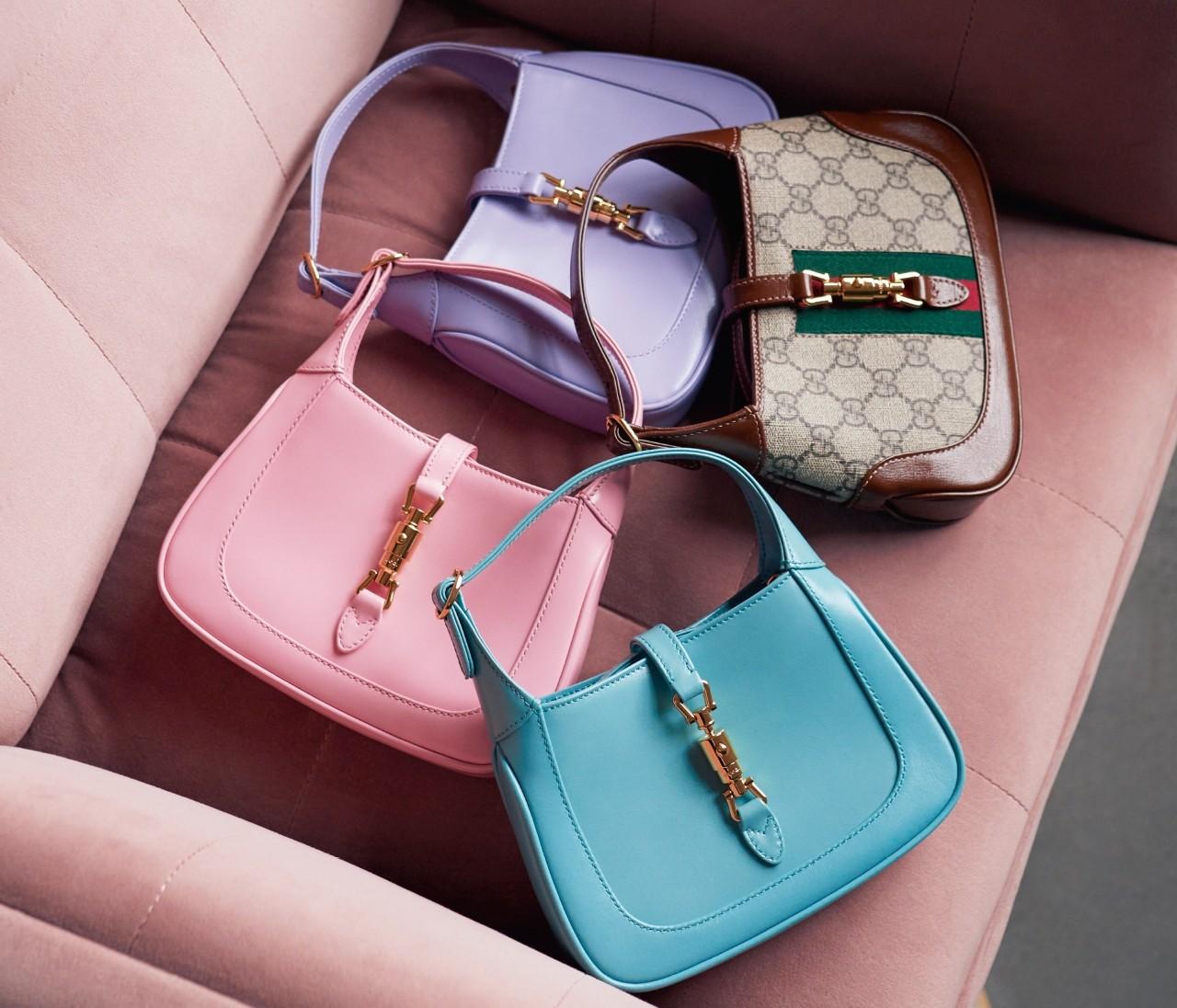 グッチの最新バッグ「ジャッキー1961」はミニサイズ&きれい色がおすすめ!【30代の新名品】