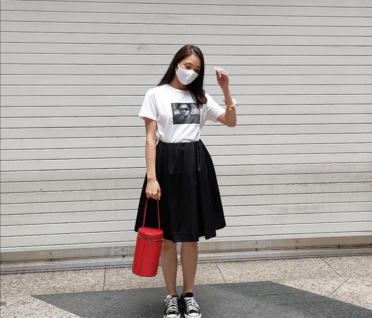 【COS サマーセール】大人のミニスカートコーデ