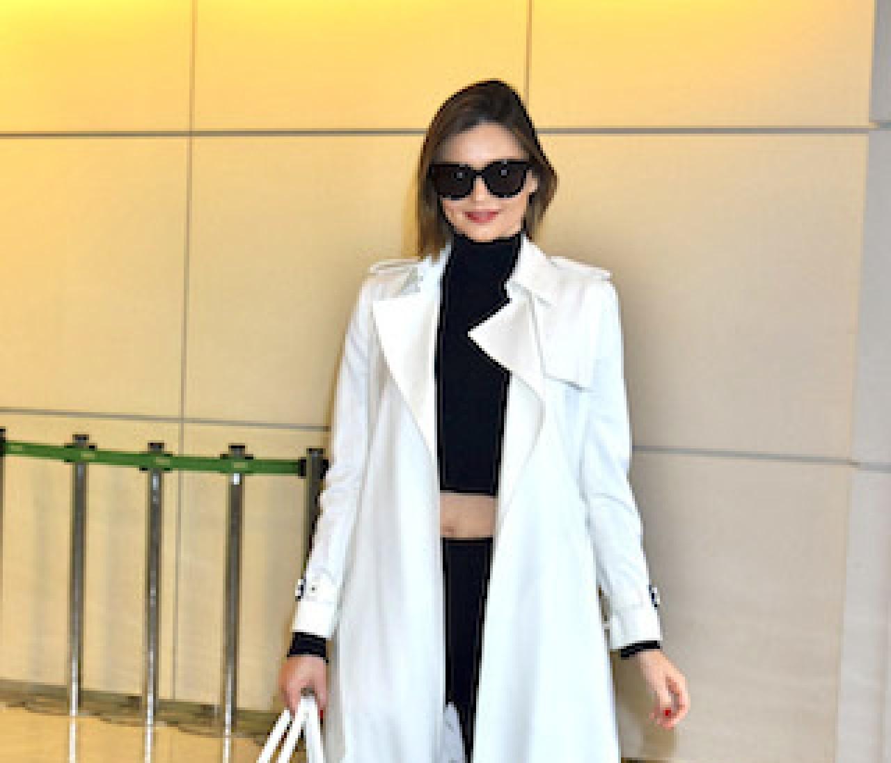 【来日ポリス】アリアナ、ミランダ、レイチェル♡空港ファッション3連発