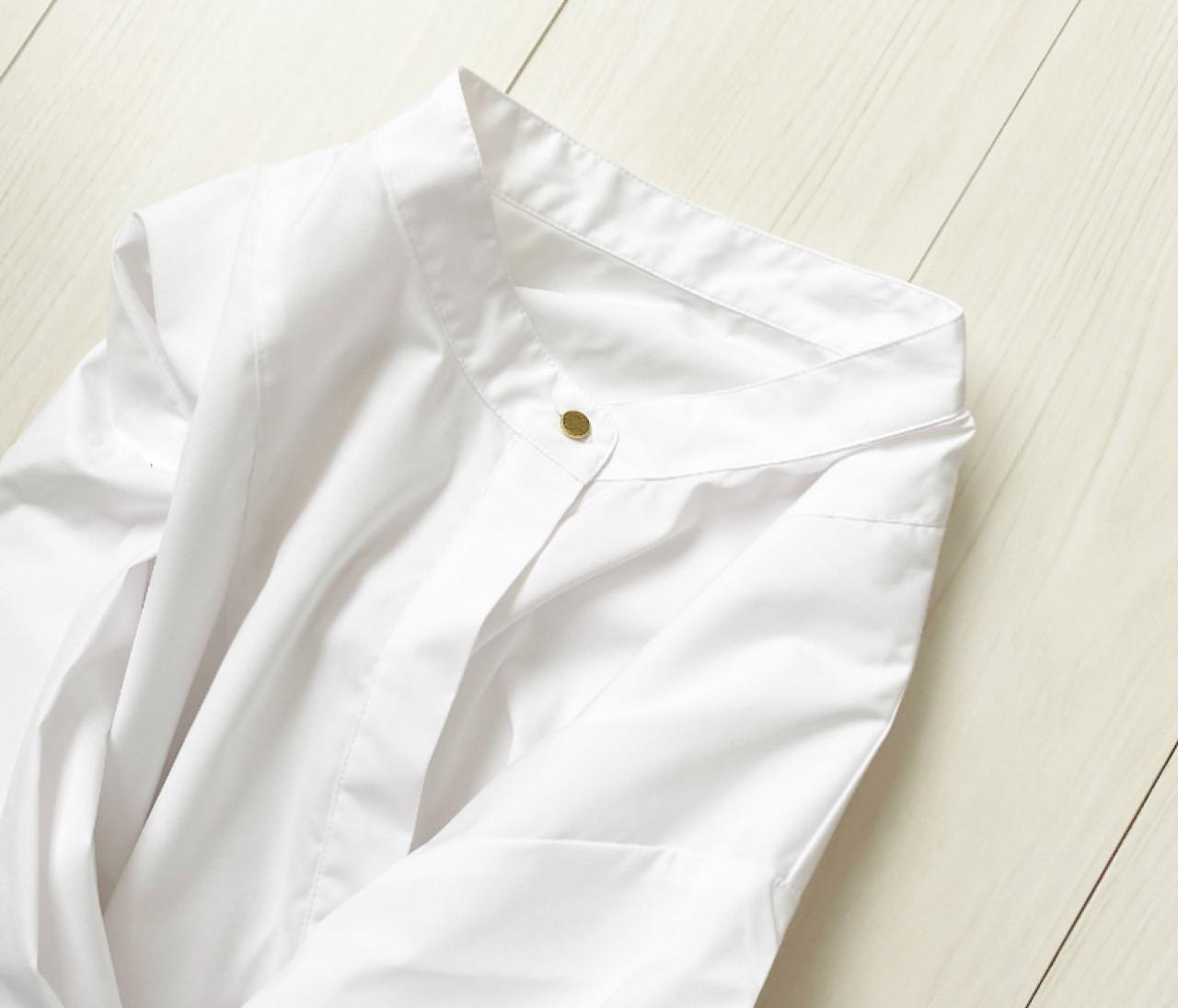 これは優秀♡プチプラで見つけたバンドカラーシャツ