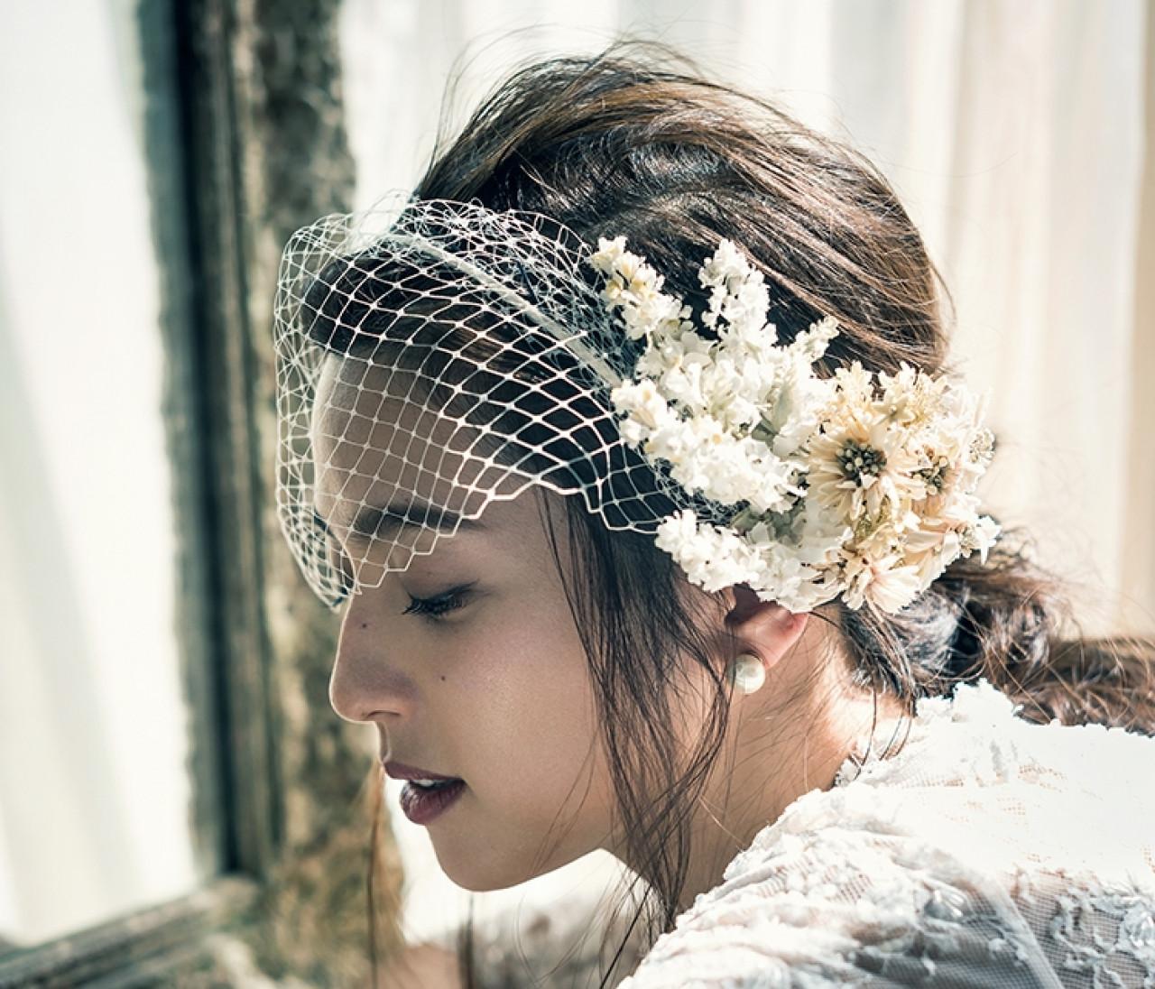 【花嫁の髪型&メイクまとめ】最高の1日のための39選!ヘッドドレスやヘアアレンジも♡【結婚式で最高の花嫁になる!2】
