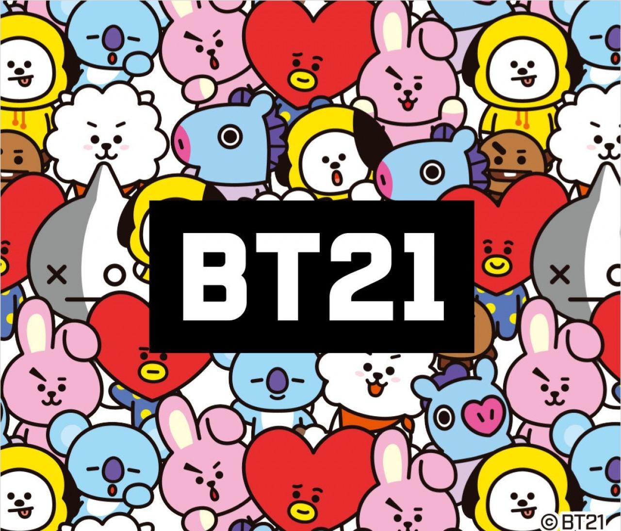 BTS(防弾少年団)&LINE公式キャラBT21×【ユニクロ(UNIQLO)】UTコラボTシャツ爆誕♡