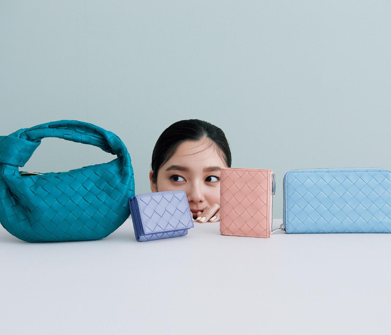【ボッテガ・ヴェネタ】「イントレチャート」のバッグ&お財布、新作はフレッシュカラー!