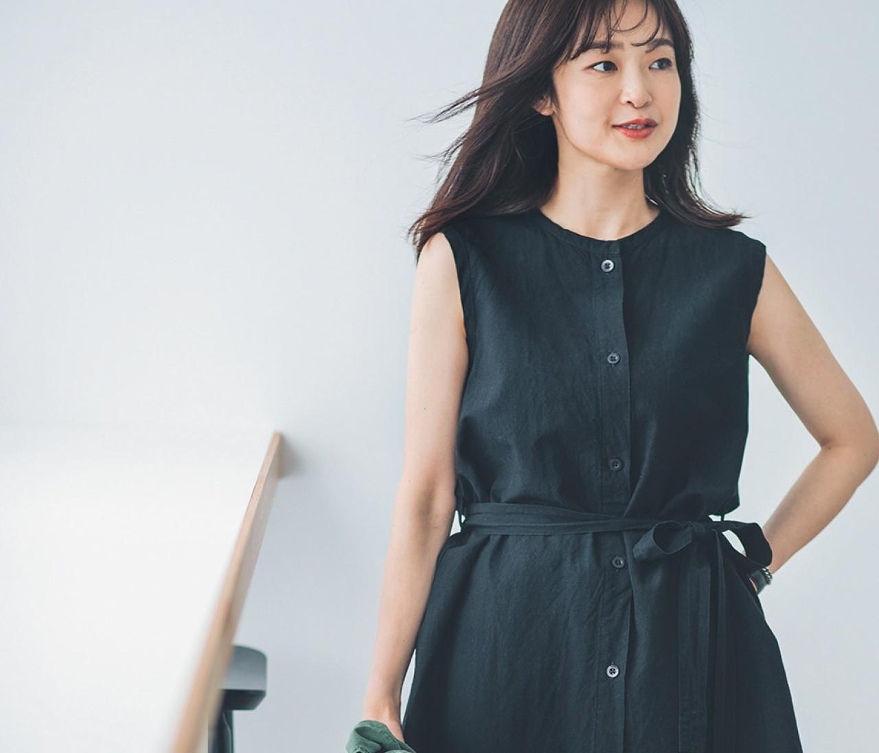 【30代女子の夏ファッションQ&A】着やせする「ノースリコーデ」とは?