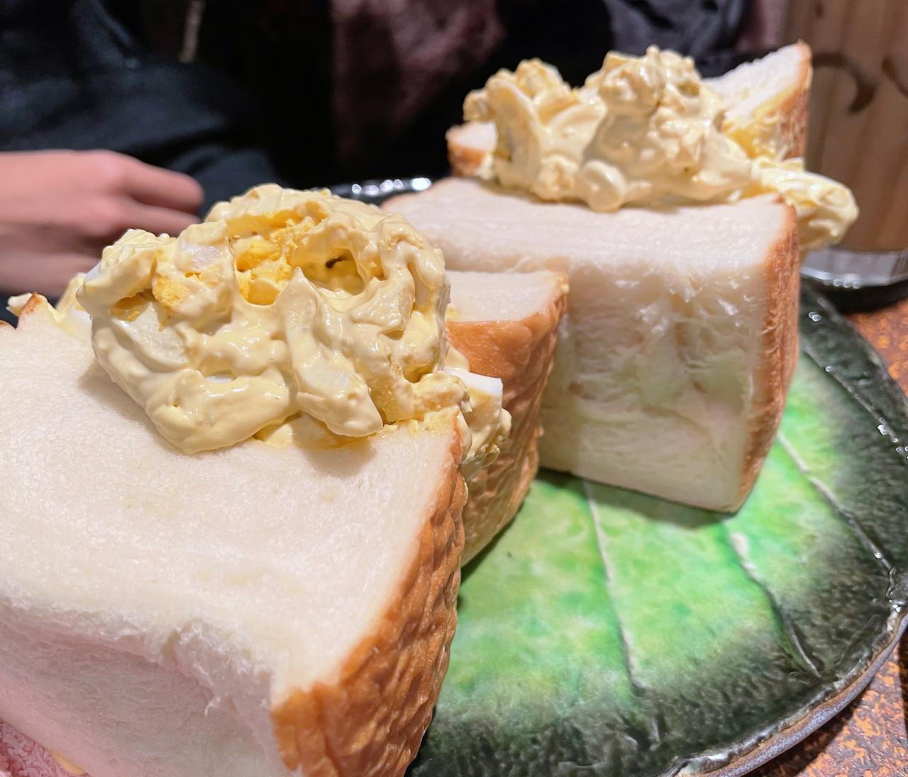 【東銀座】1度見たら忘れられない!ボリュームサンドイッチ