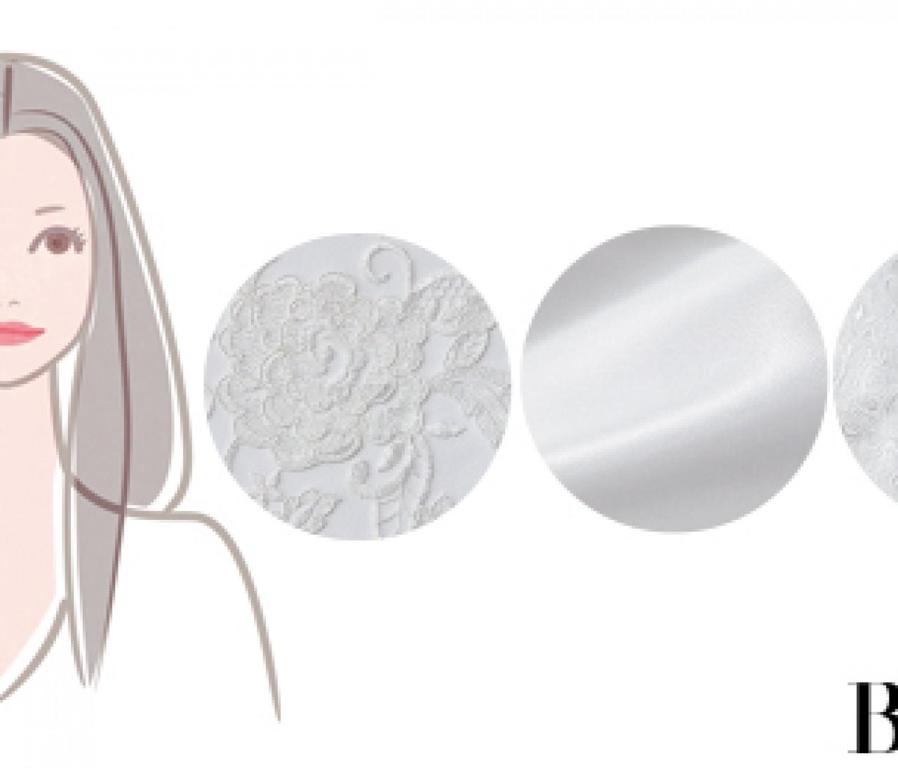 【ブルベ肌×男顔】スノー姫タイプのあなたにぴったりの「白ドレス」は?