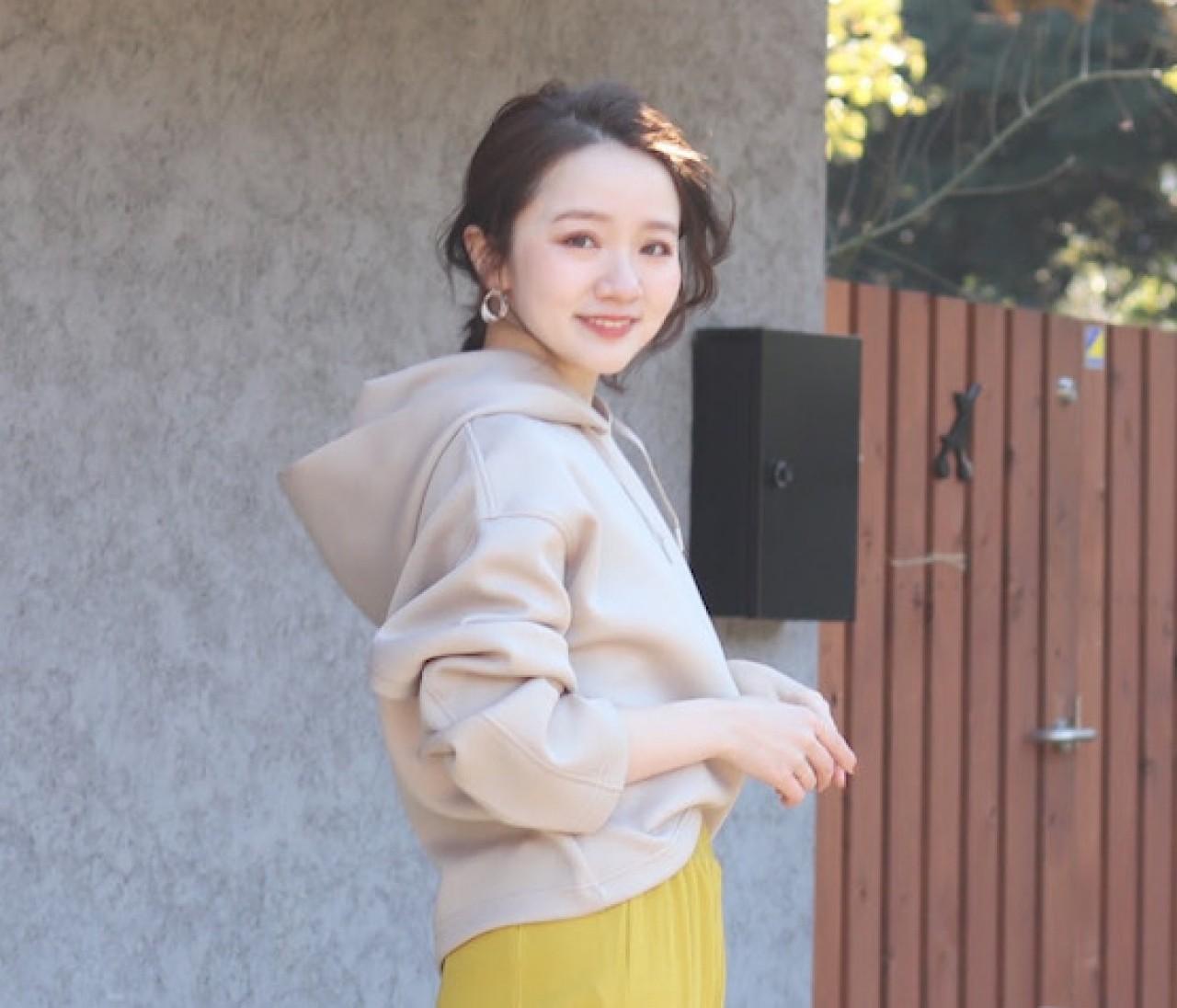 【大人女子のパーカー】UNIQLOのドライソフトスウェットプルパーカがとにかく使える!