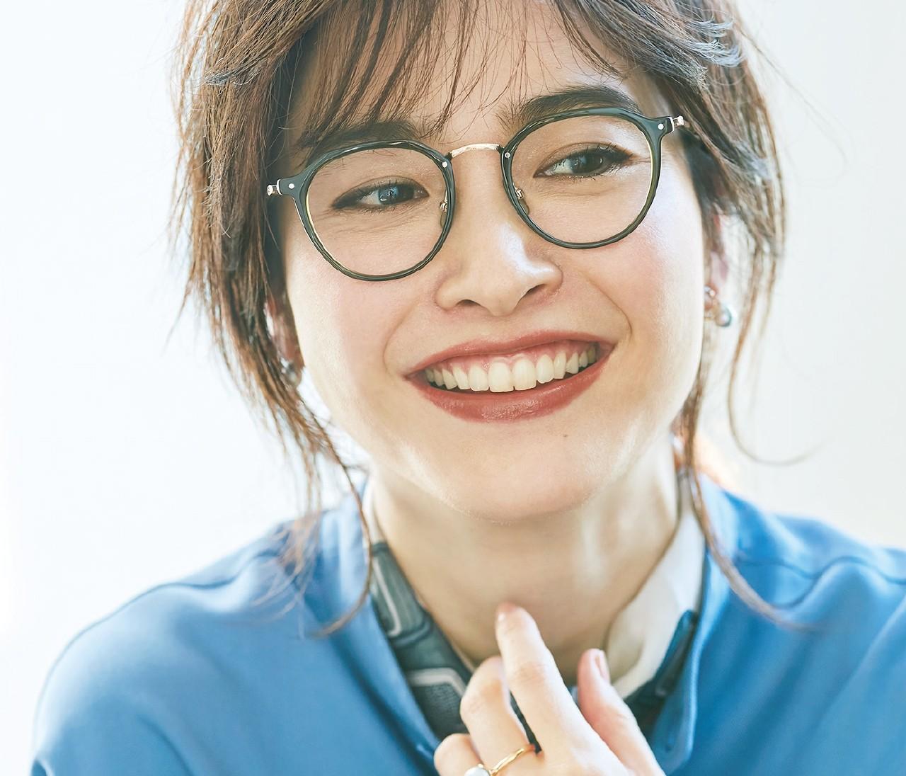 【美人メガネ】大人顔タイプのおすすめは「大きめサイズ」