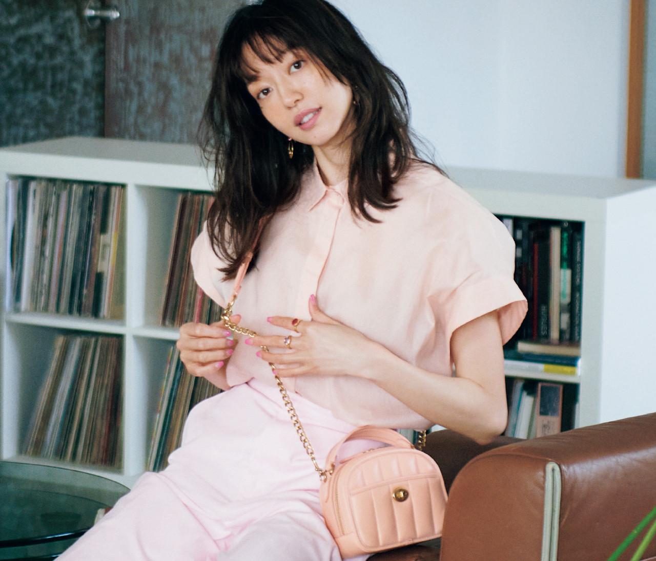 【松島 花】大人がピンクを着こなすなら、これが理想!