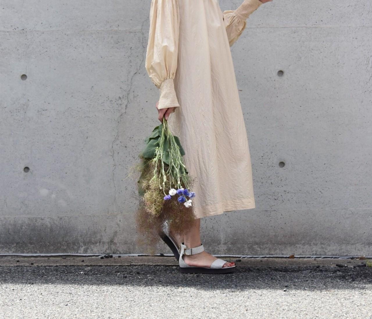 お花と私。