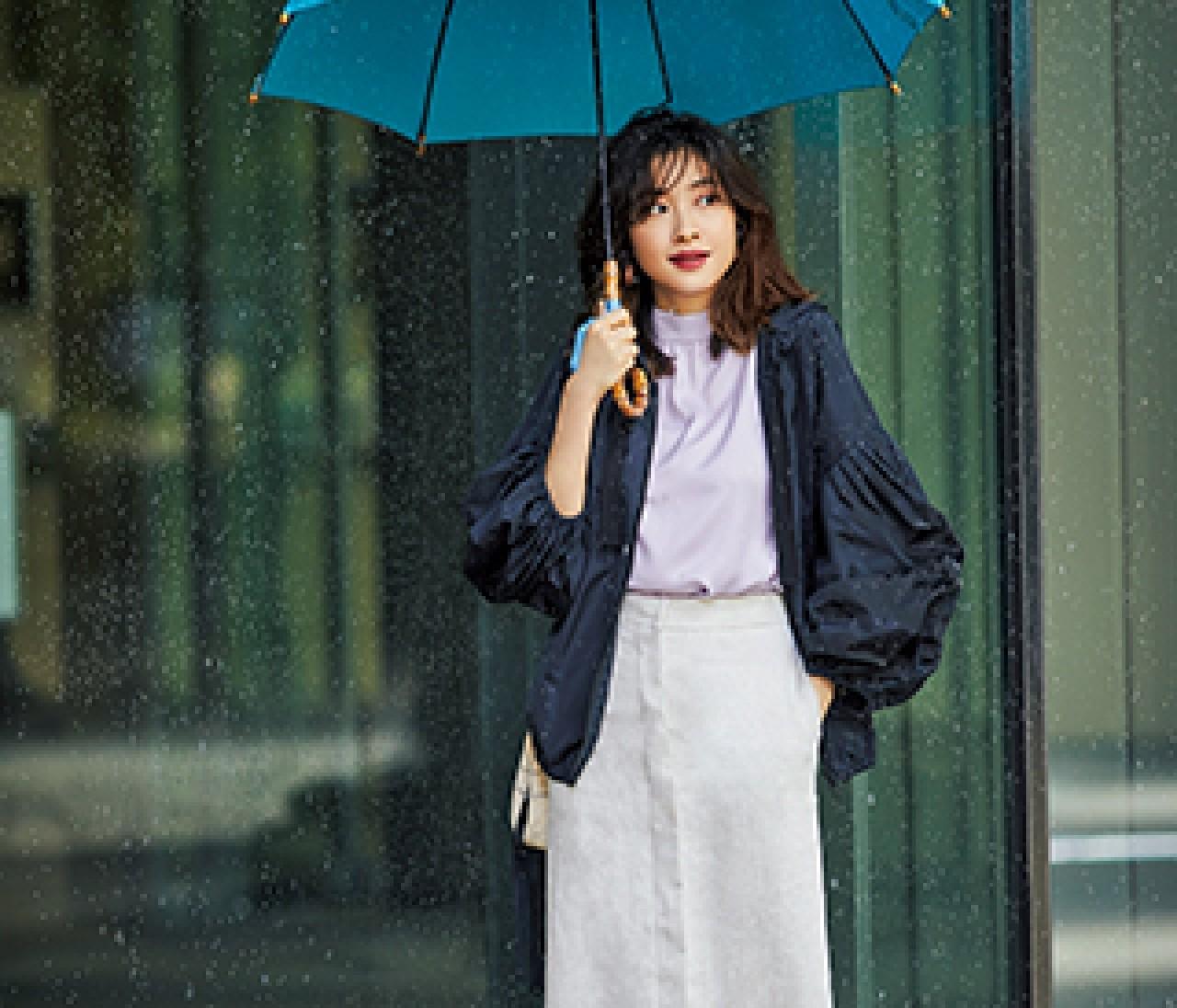 【きちんと見え晴雨兼用靴】降ってもやんでもおしゃれ感キープ!