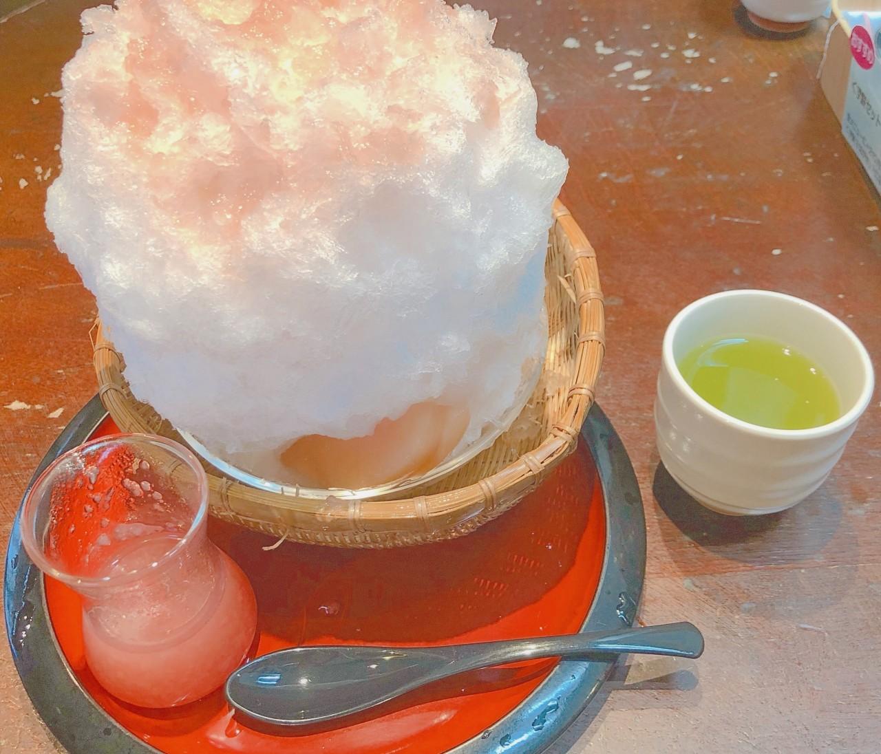 広尾の美味しいかき氷とコーディネート♪