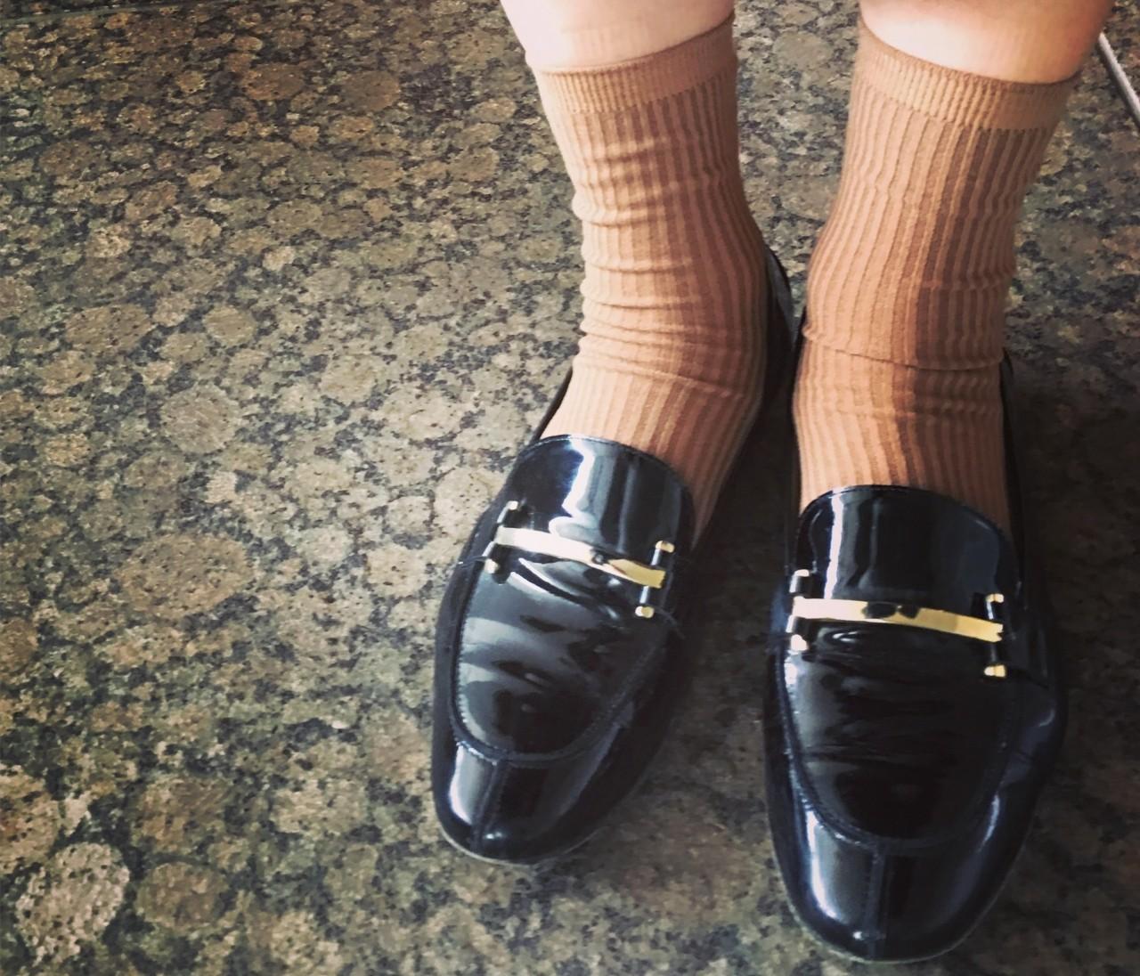 付録のソックスを手持ちの靴にとことん合わせてみたら…。