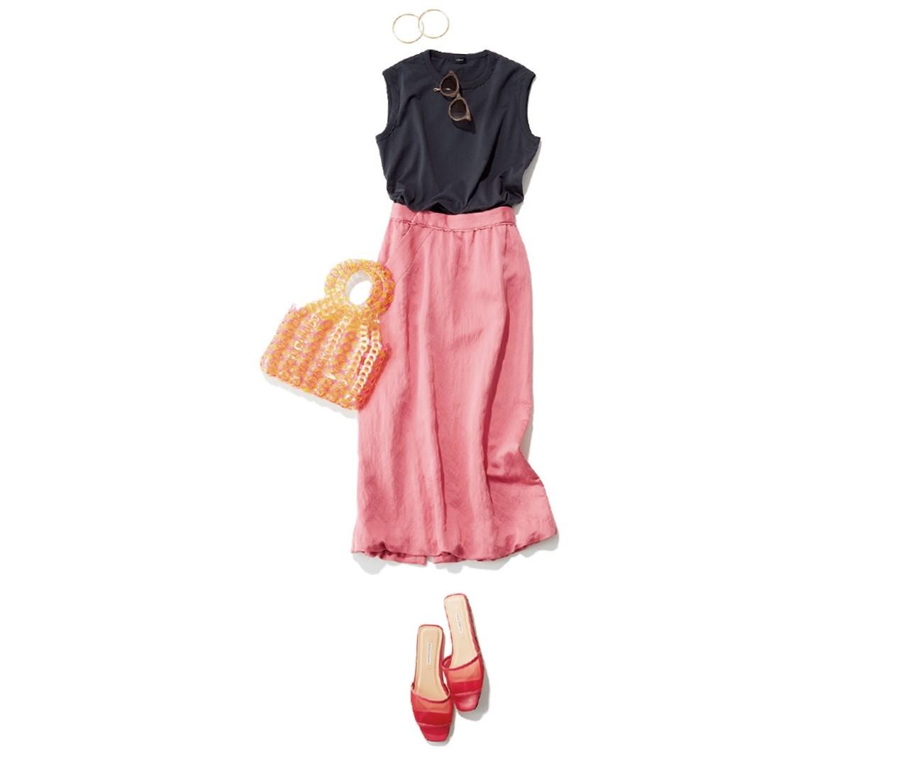 【30代女子の夏ファッションQ&A】この夏おしゃれにまとまる配色は?