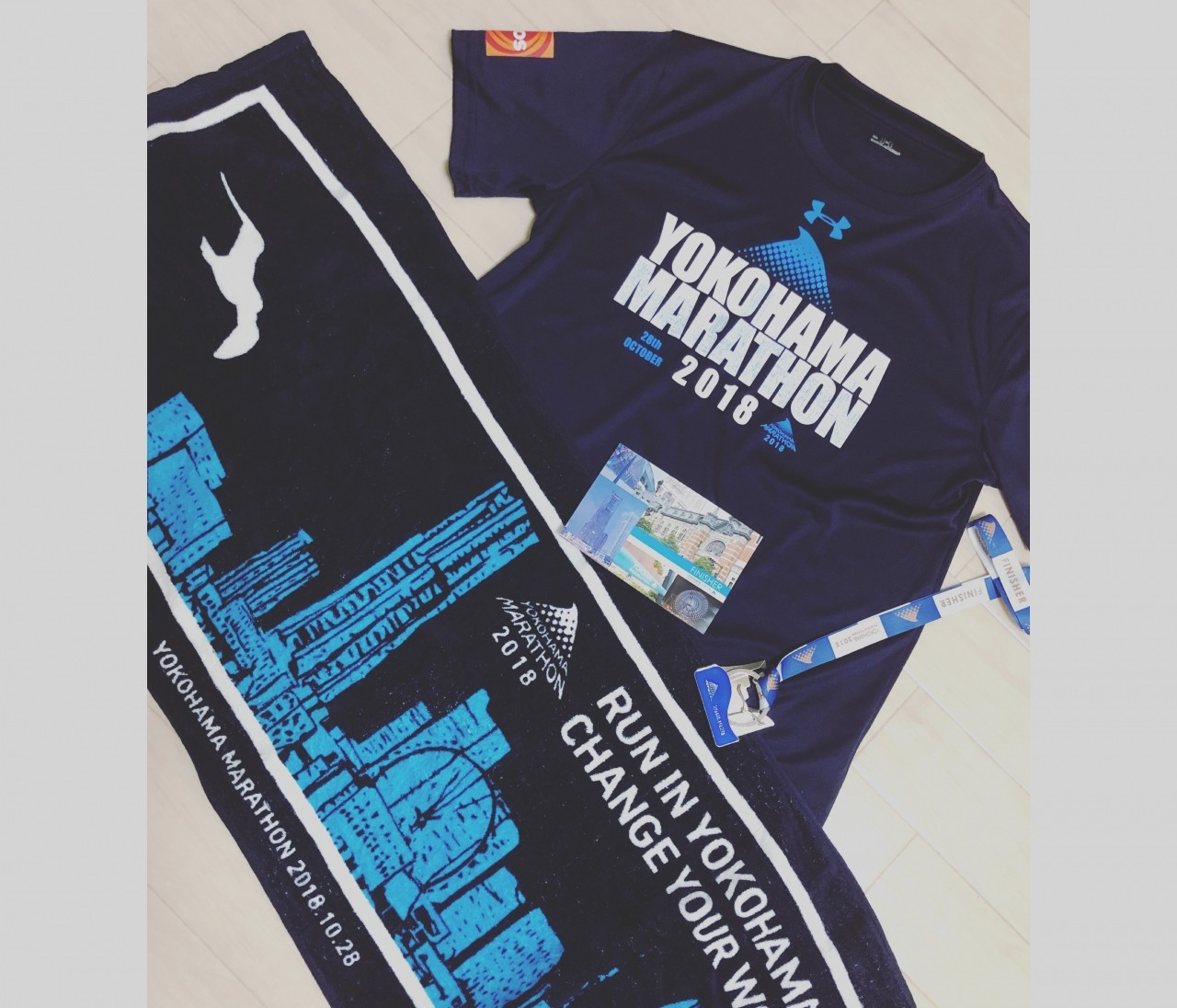 スポーツの秋‼︎【横浜マラソン】に初挑戦しました