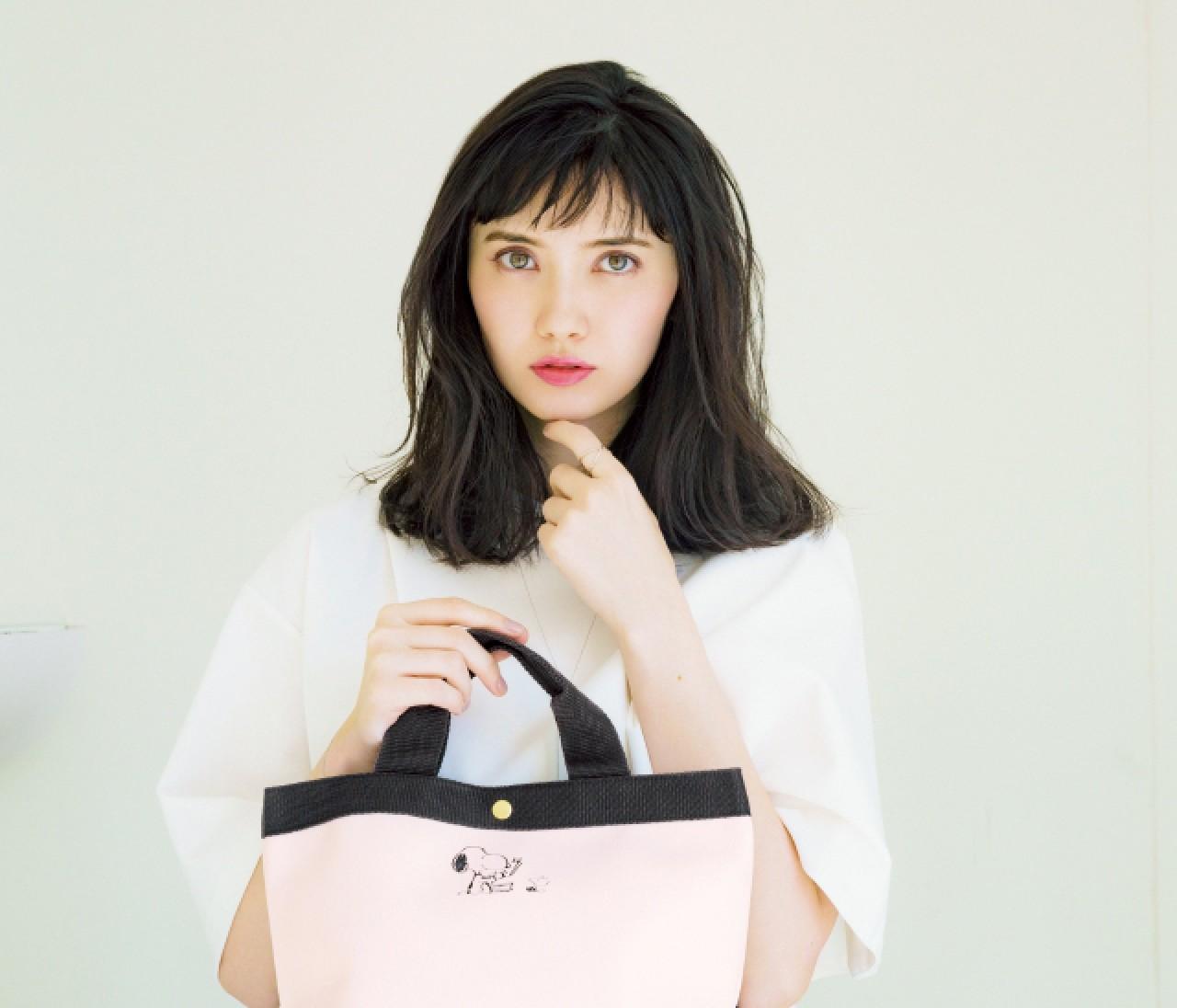 【速報!!!】3月号付録は大人の可愛げ♡ スヌーピーレザー調トートバッグ