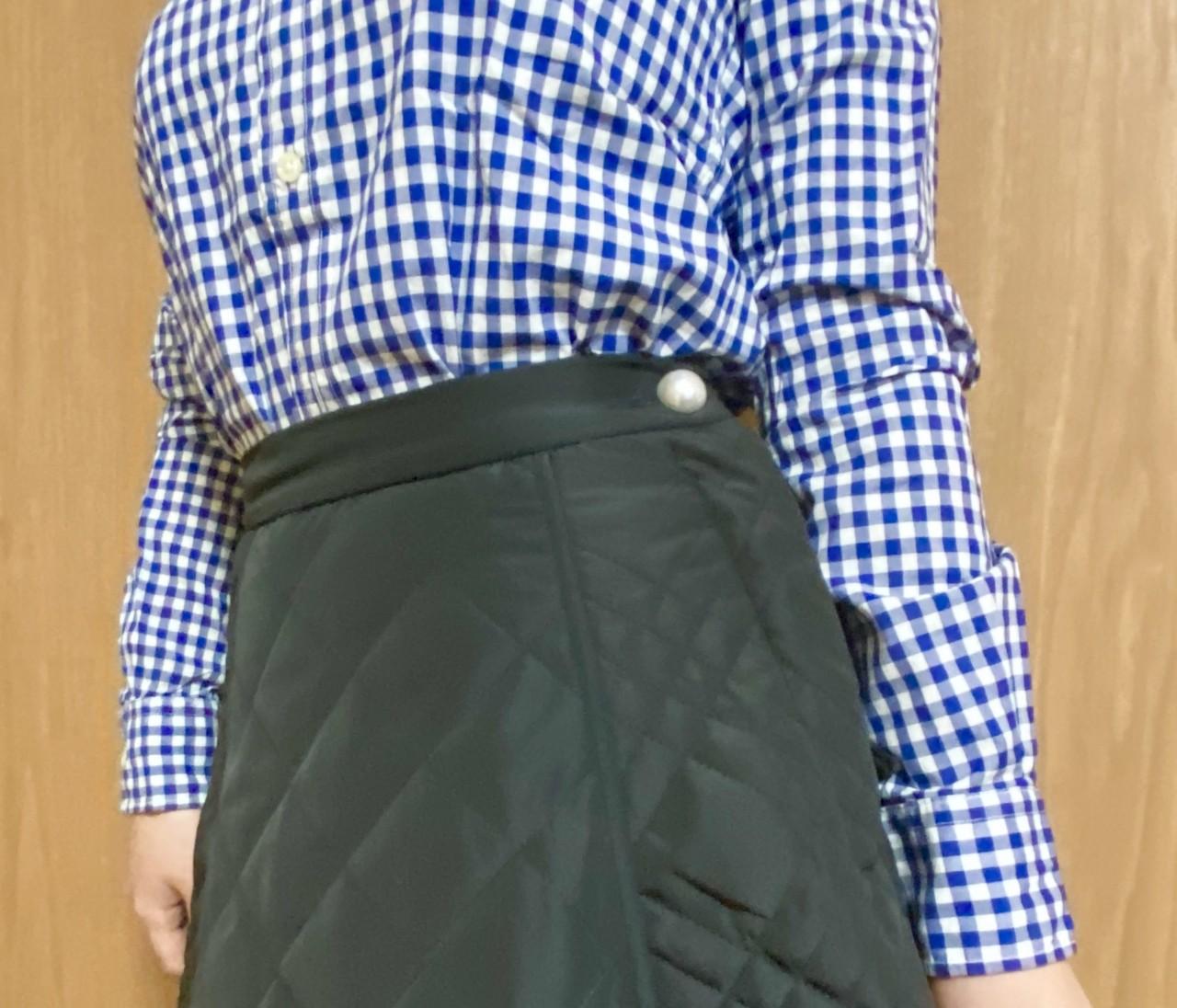 【リメイク】プチプラスカートを10分で。人と被らない洋服に!