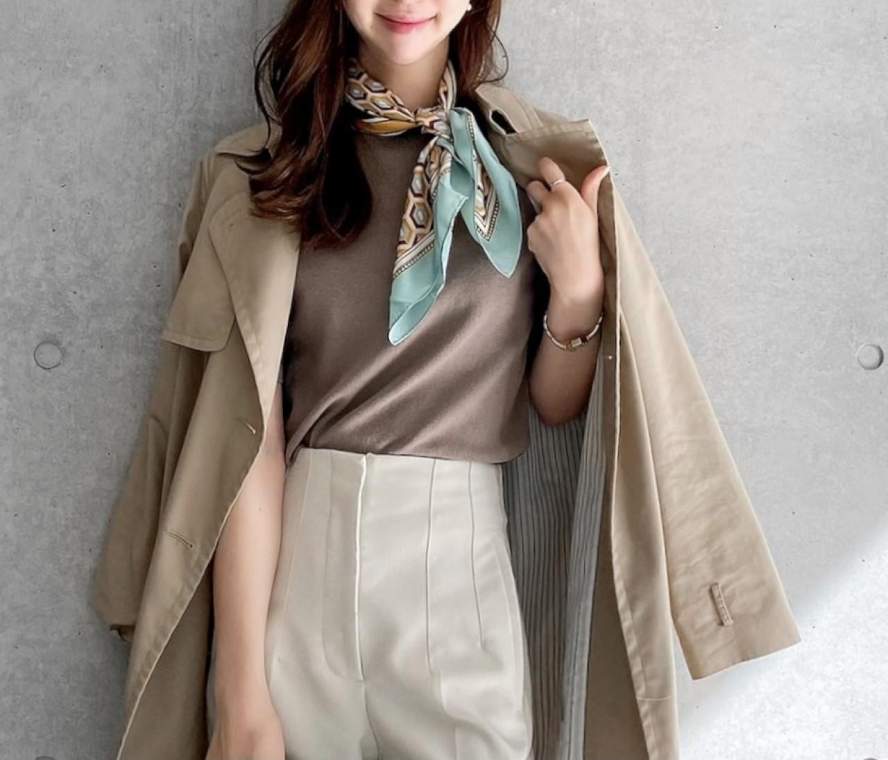 【ZARA】大人気イニシャルスカーフ♡マンネリ打破する3つの使い方