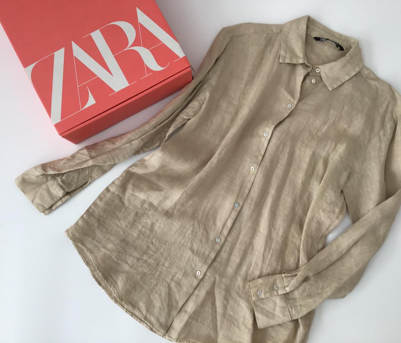 【ZARA(ザラ)】高見えリネンシャツをアラサー的に着回し!【身長150cmエディターchiakiの30代おしゃれTIPS】