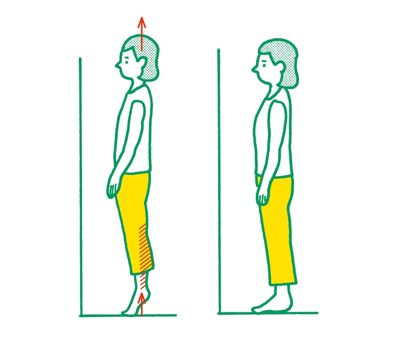 【脚裏伸ばしダイエット】15回1セット!ふくらはぎ伸ばしでむくみ解消法