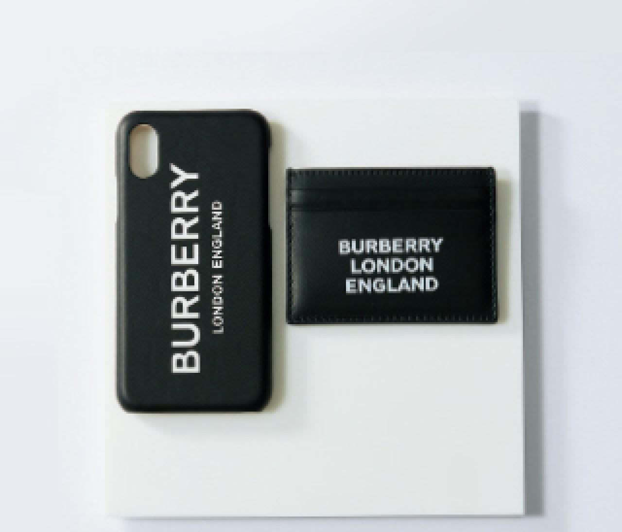 【BURBERRY】ユニセックスデザインは彼へのプレゼントにも♡ スモールレザーグッズ③