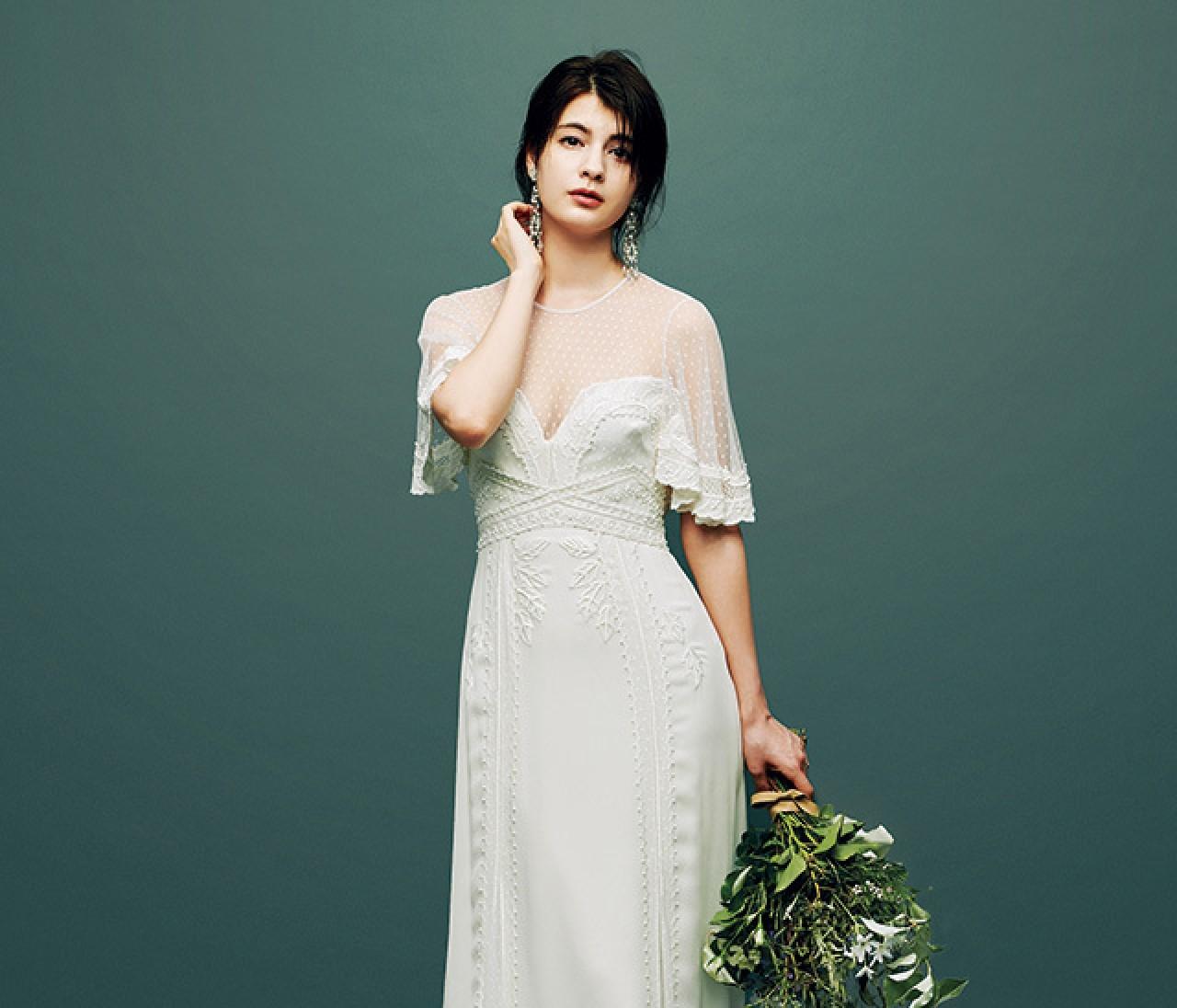 今どきディテールのトレンドドレス【普段の自分から選ぶドレス 1】