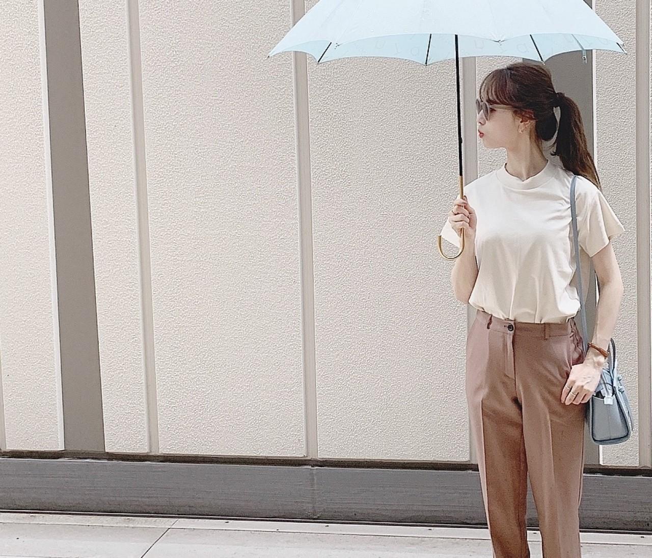 【GU】話題のTシャツで大人の可愛げコーデ♡