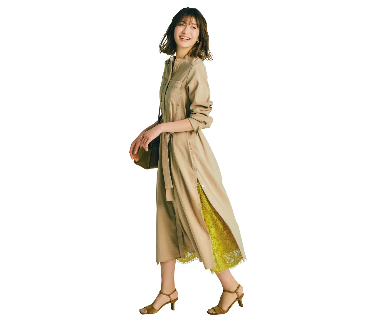 〈お得2way服〉なら組み合わせてもバラしても可愛い春コーデが完成